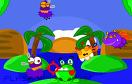 青蛙大食客遊戲 / Fat Frog Frenzy Game