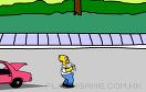辛普森接啤酒桶遊戲 / Homer's Beer Run Game