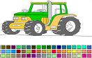 拖拉機填色遊戲 / 拖拉機填色 Game
