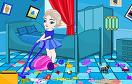 寶貝艾爾莎清理房間遊戲 / 寶貝艾爾莎清理房間 Game