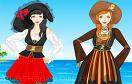 性感少女海盜裝扮遊戲 / 性感少女海盜裝扮 Game