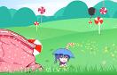 女孩撐傘接糖果遊戲 / 女孩撐傘接糖果 Game