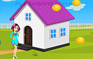女孩裝扮房子遊戲 / 女孩裝扮房子 Game