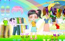 可愛的大頭寶貝遊戲 / Cutie Doll Dress Up Game