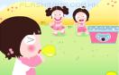 小美女吹氣球遊戲 / 小美女吹氣球 Game