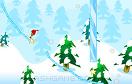 勇敢聖誕老人滑雪遊戲 / 勇敢聖誕老人滑雪 Game