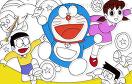 哆啦a夢填顏色遊戲 / 哆啦a夢填顏色 Game